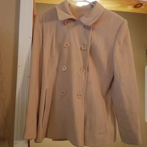 Wool Cashmere Mix Coat *EVERYTHING MUST GO SEP 30*